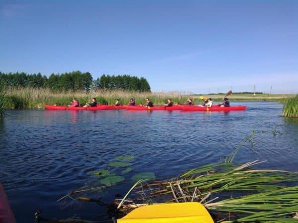 Spływy kajakowe na Białorusi