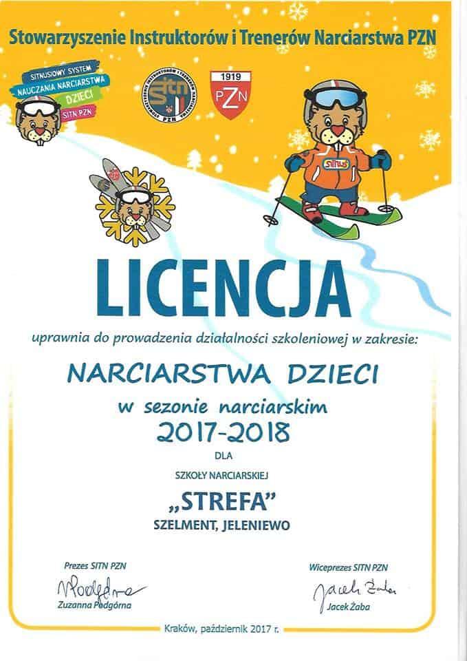 Licencje na 2018 rok.
