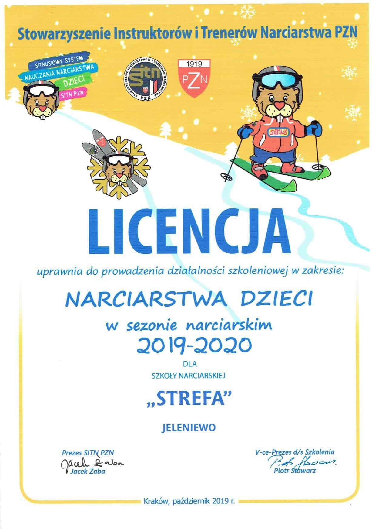 Licencja szkoleniowa dla dzieci